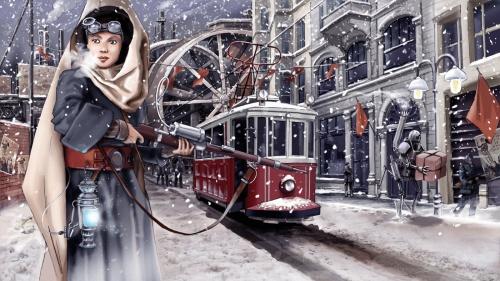 Польский художник-иллюстратор Piotr Sokolowski (19 работ)