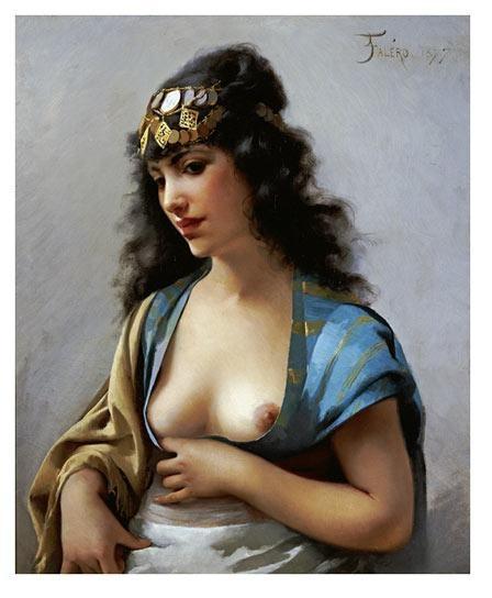 Испанский художник Luis Ricardo Falero (1851- 1896) (48 работ)