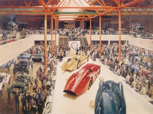 The Motorsport Art of Michael Turner (135 работ)