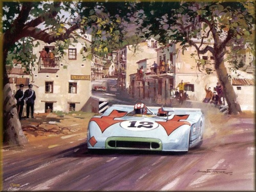 The Motorsport Art of Michael Turner (135 работ)