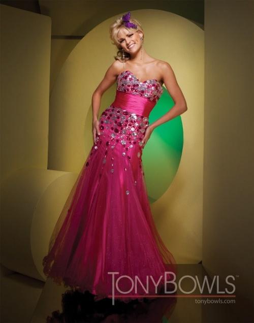 Вечерние платья Tony Bowls 2011 - часть 1 (44 фото)