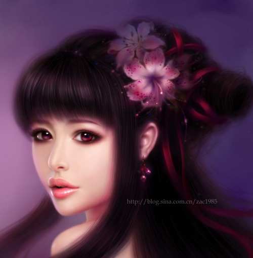 Художник-иллюстратор Ruoxing Zhang (22 работ)