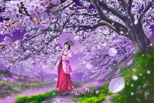 Творчество японского художника-иллюстратора Шу Мизогучи (Shu Mizoguchi)№2 (96 работ)