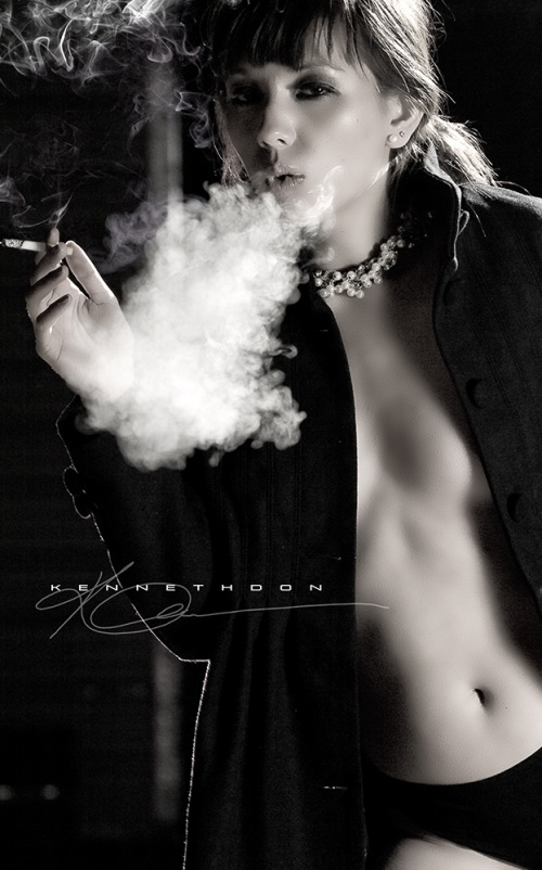 Угостите Даму сигаретой . . . (441 фото) (эротика)