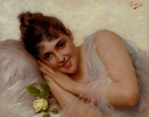 Tito Conti (Italian, 1842-1924) (49 работ)