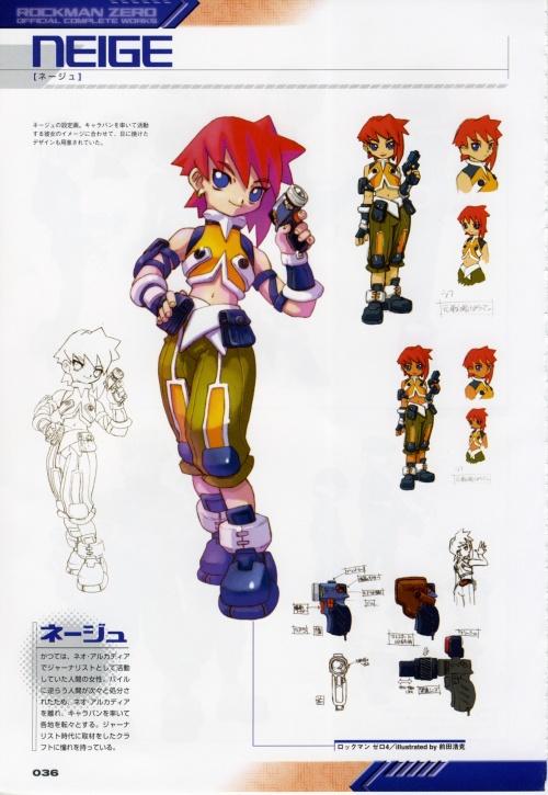 Rockman Zero - Official Complete Works - Toru Nakayama (182 работ)