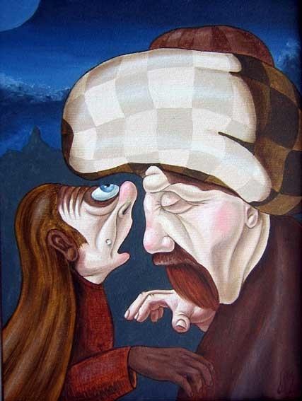 Виктор Молев - Портреты (33 работ)