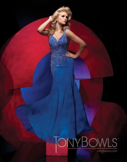 Вечерние платья Tony Bowls - часть 2 (35 фото)