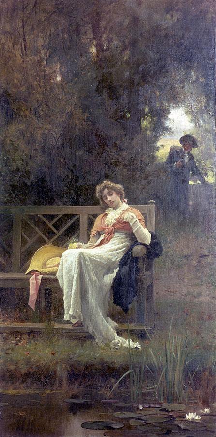 Marcus Stone (British, 1840-1921) (59 работ)