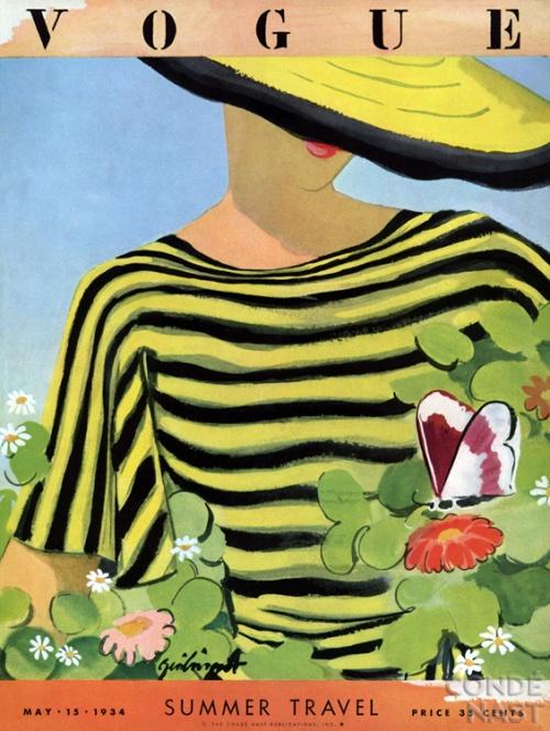 Обложки женского модного журнала Vogue с 1930 по 1950 гг. (85 фото)