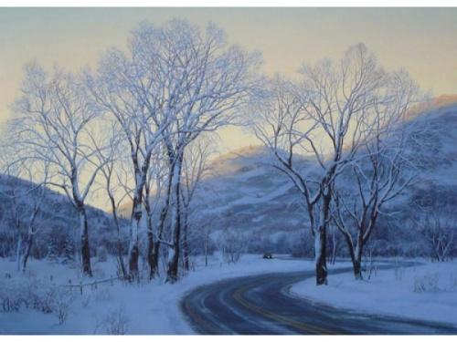 Пейзажи Евгения Лушпина (18 работ)
