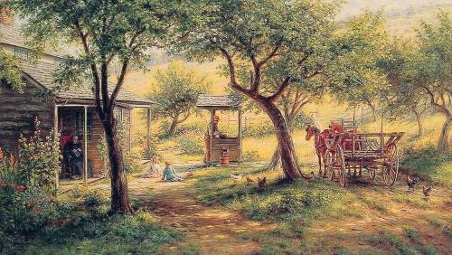 Американская живопись | The American painting (952 работ)