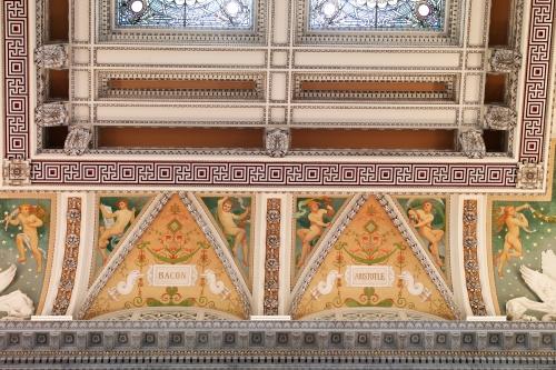 Фрески Библиотеки Конгресса США. Часть 3 (9 работ)