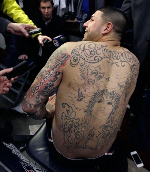 Татуировки спортсменов (19 фото)