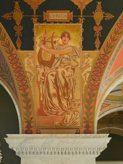 Фрески Библиотеки Конгресса США. Часть 1. George Randolph Barse (1861-1938) (13 работ) (1 часть)