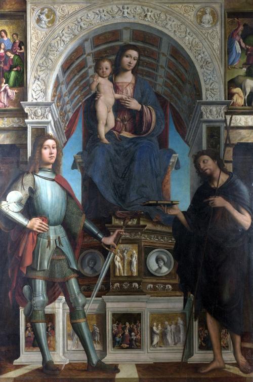 Европейские художники 12-19 веков ч.8 (100 работ)