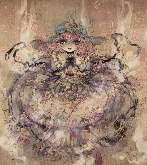 Gothic Japanese Artwork by Yayuyo (40 работ)