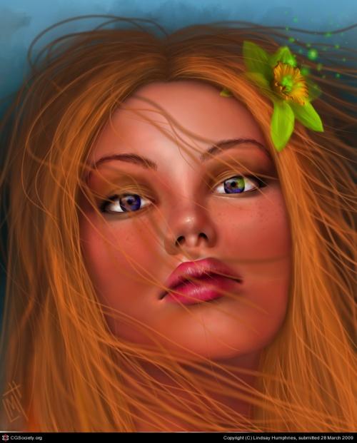 Digital Artist Lindsay Humphries (10 работ)