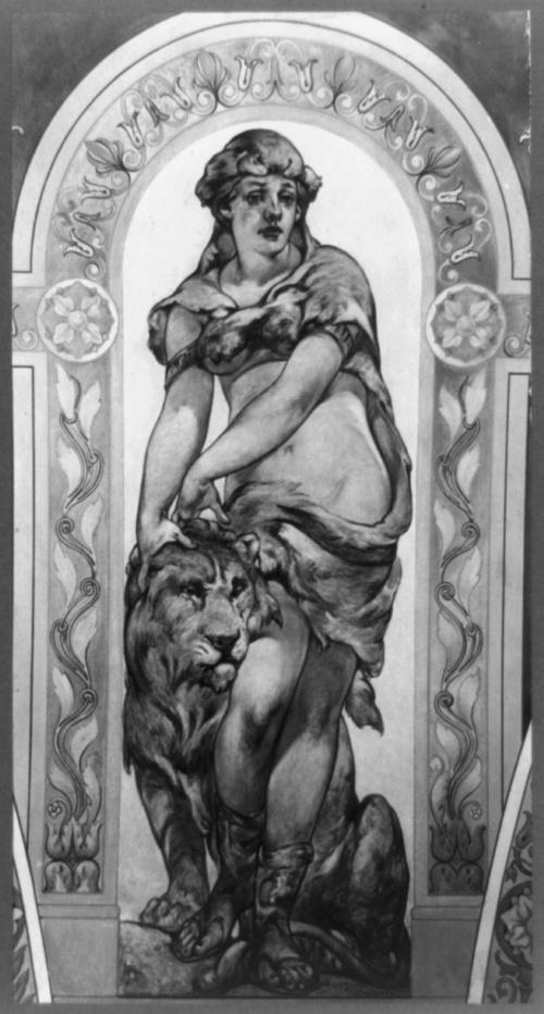 Фрески Библиотеки Конгресса США. Часть 2. Walter Shirlaw (1838-1909) (21 работ) (2 часть)
