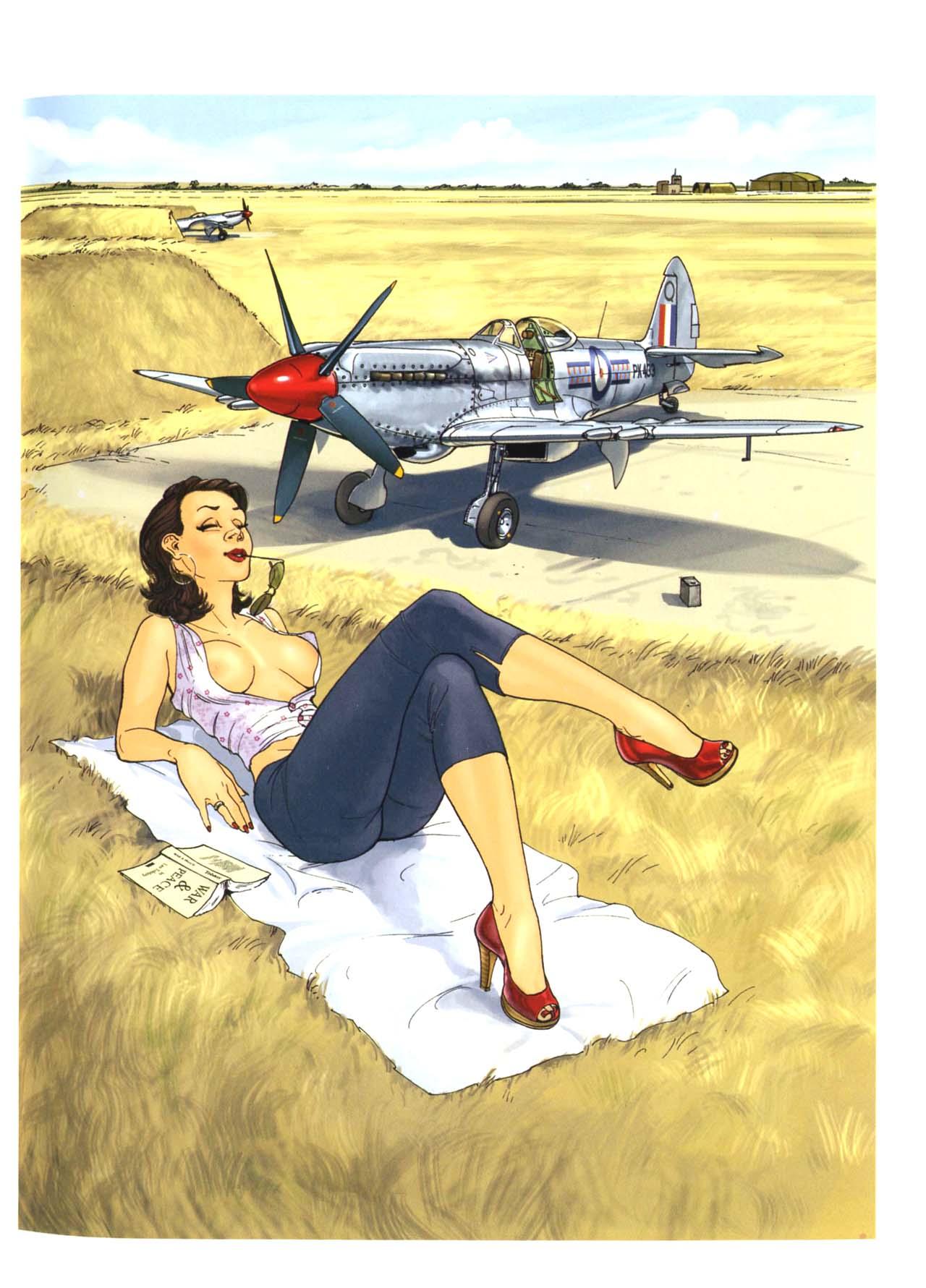 Самолеты и девушки 8 фотография