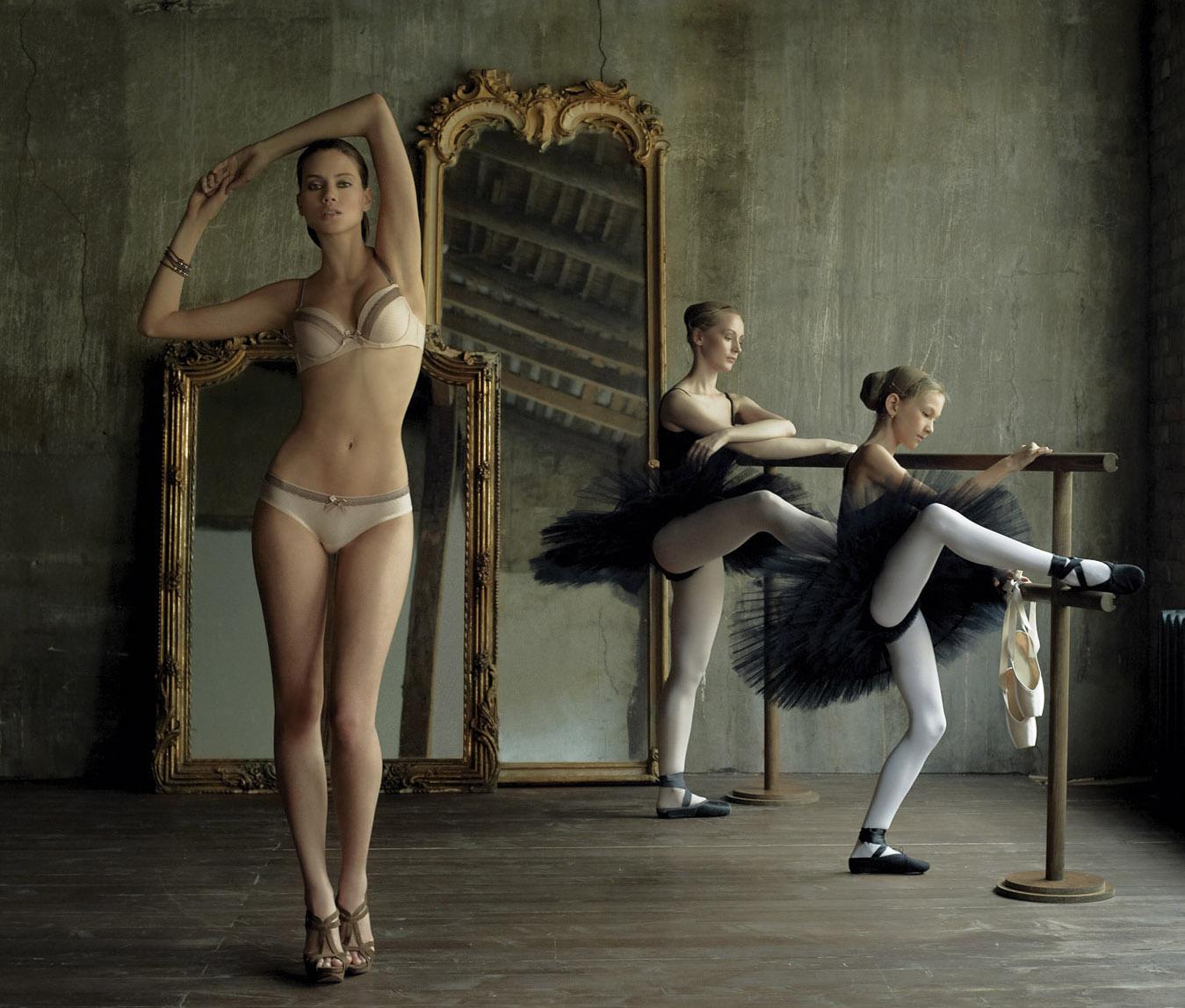 Фото юных балерин 6 фотография