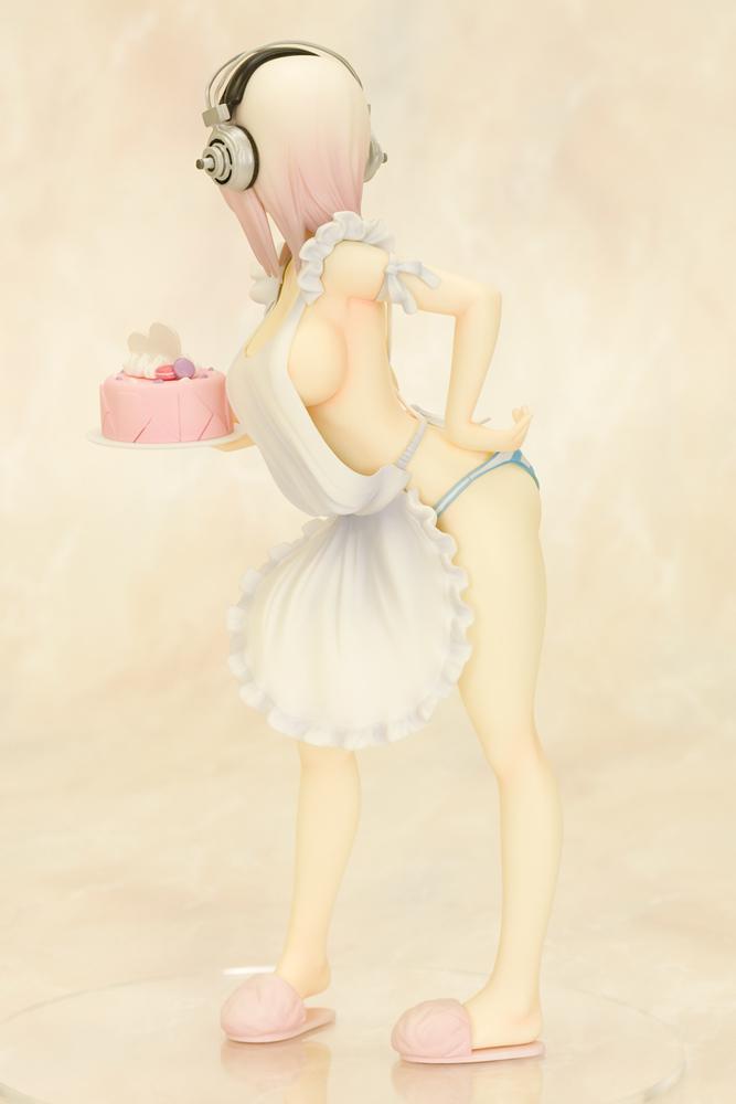 Super Sonico 10th Anniversary Figure Wedding Ver