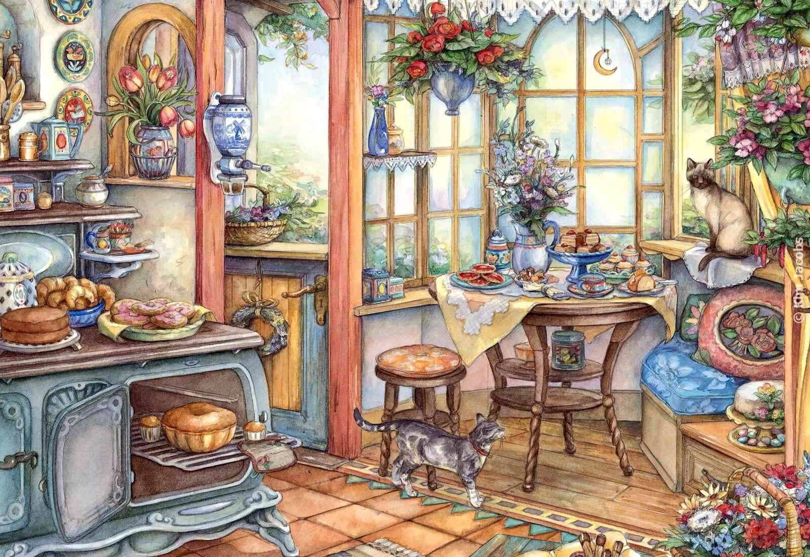 Картина на кухню нарисовать