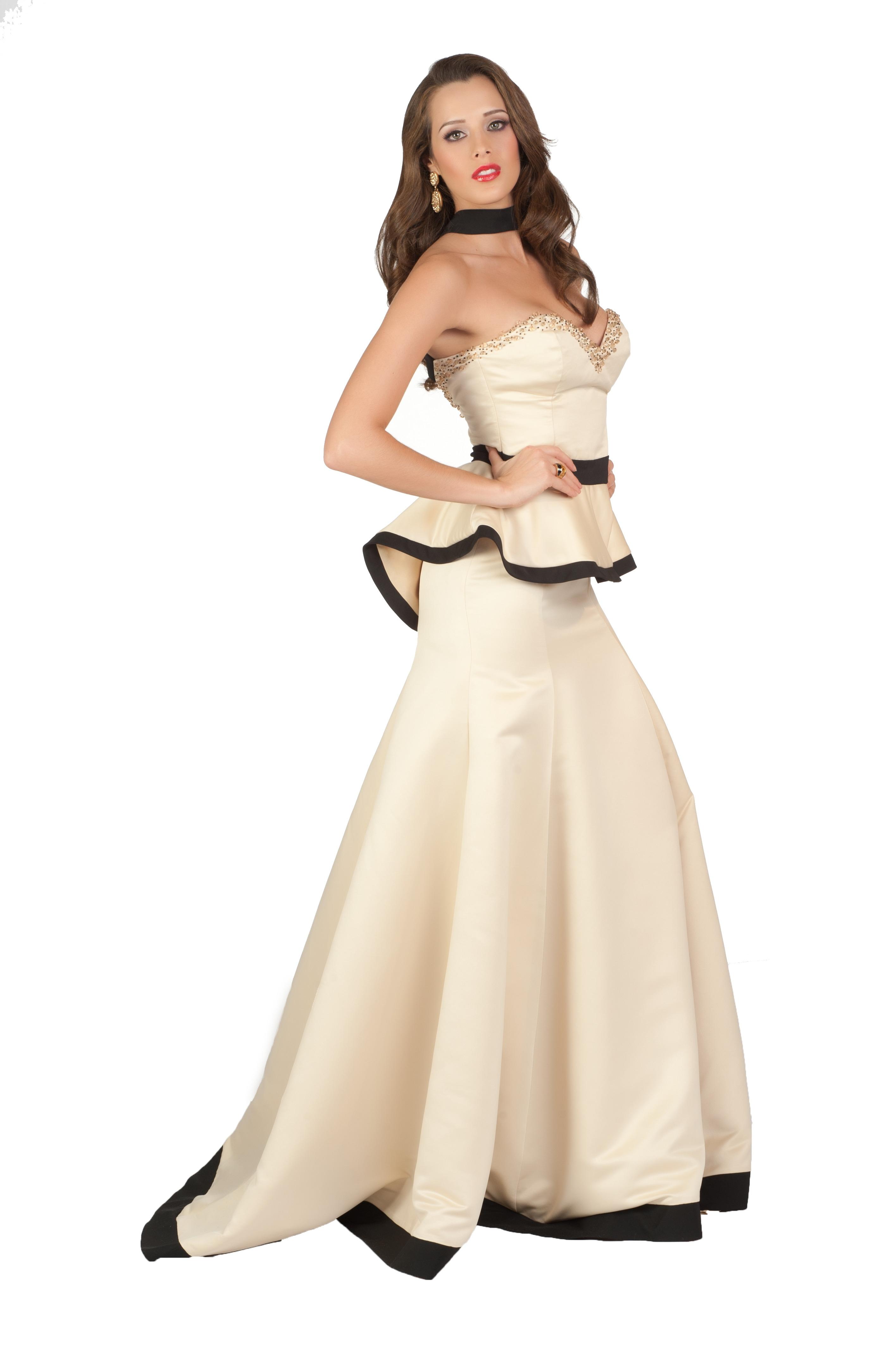 Эротика с моделями в шикарных вечерних платьях 10 фотография