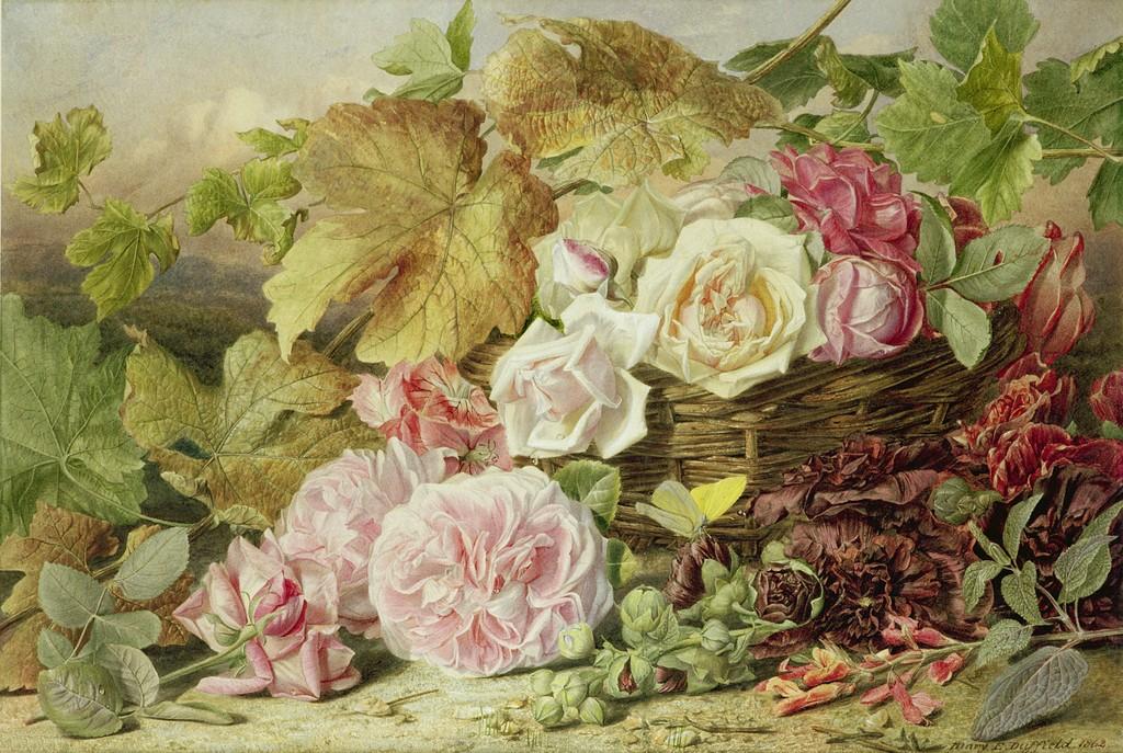 Цветы и натюрморт в живописи 18 20 веков