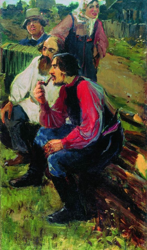 Художник Рябушкин Андрей Петрович (1861-1904) (67 работ)