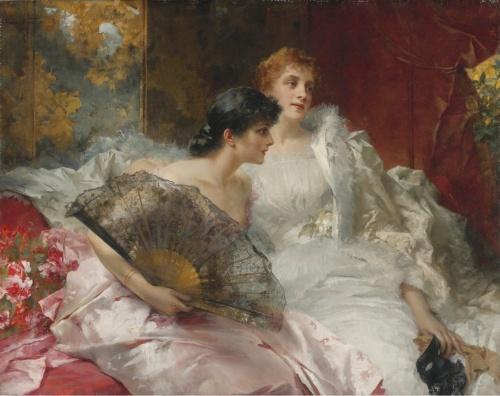 Немецкий художник Conrad Kiesel (1846-1921) (53 работ)
