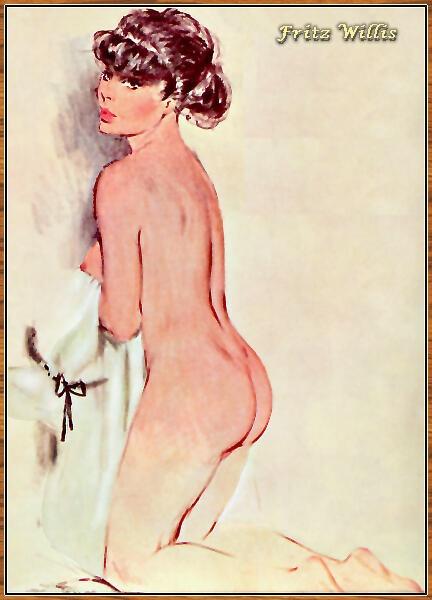 Art of Fritz Willis (166 работ)