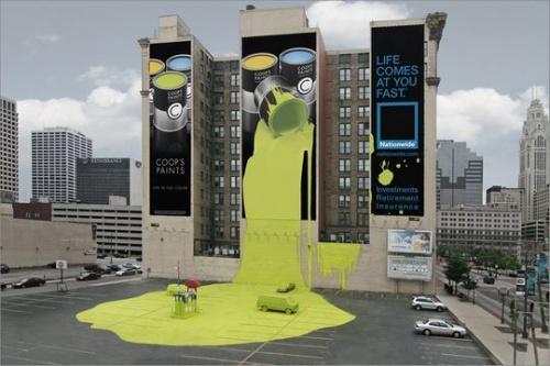 46 самых креативных биллбордов (48 фото)