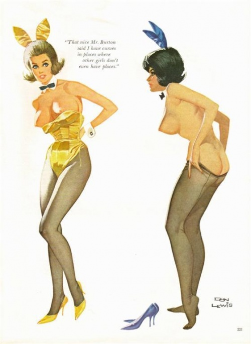 Pin-Up Collection by Don Lewis (25 работ)