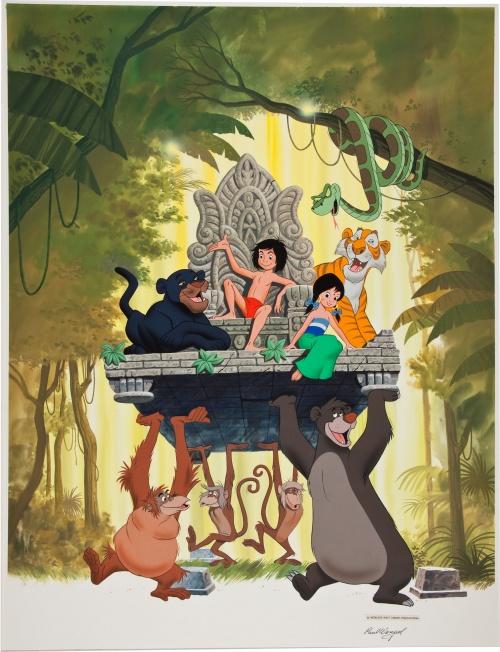 Disney Illustrators (62 работ)