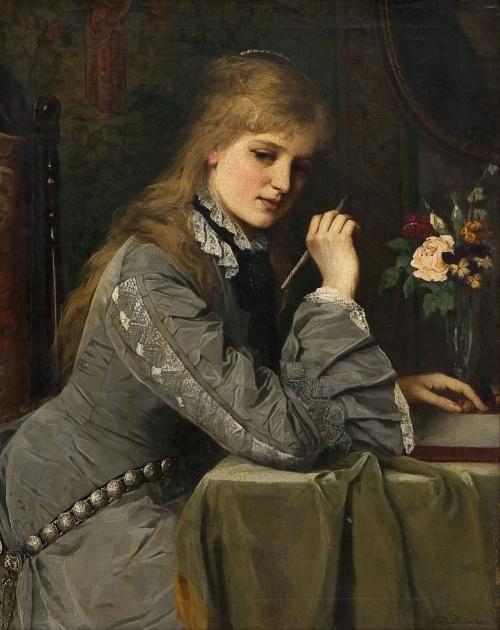 Женский образ в живописи 18-20 веков часть 5 (105 работ)