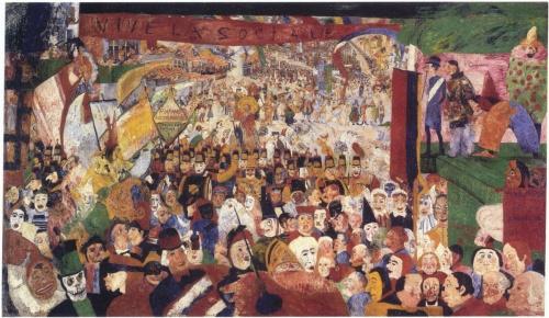 Джеймс Энсор   XIX-XXe   James Ensor (225 работ)