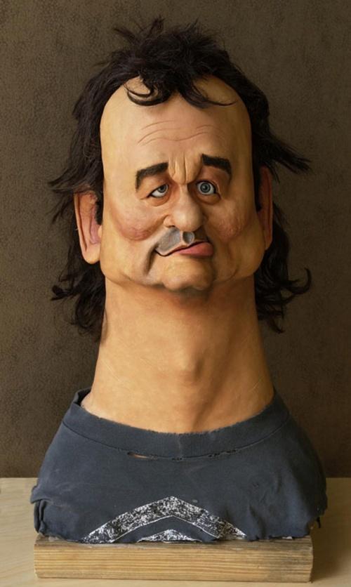 Карикатуры на знаменитостей (39 работ)