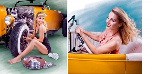 Pin-Up and Glamour Collection by Kate Turning (159 работ)