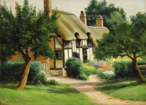 Пейзажи Dollie Nabinger (1905-1988) (25 работ)