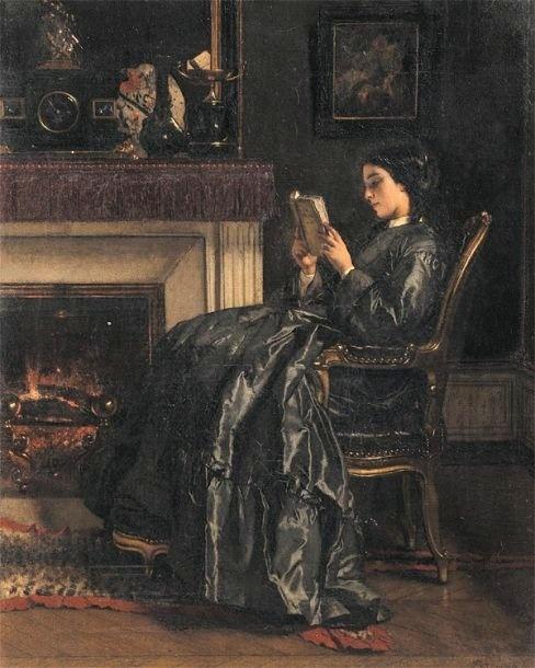 Бельгийский художник Alfred Stevens (1823–1906) (218 работ)