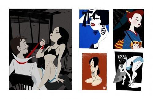 Pin-Up Collection by Keiko Murayama (120 работ)