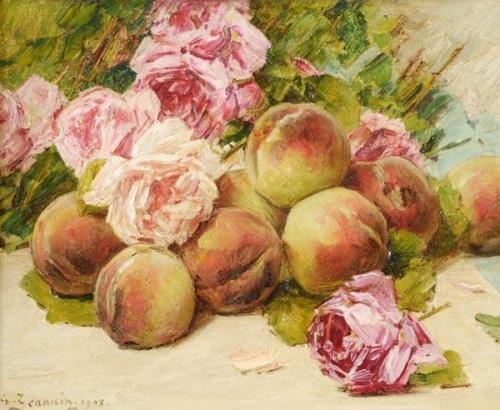 Французский художник Georges Jeannin (1841 - 1925) (49 работ)