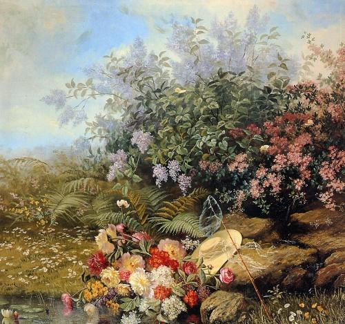 Цветы и натюрморт в живописи 18-20 веков часть 1 (108 работ)