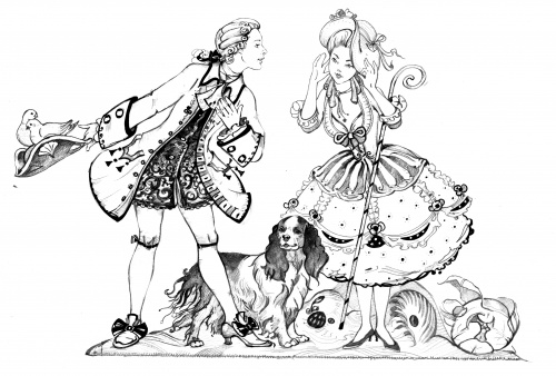 Иллюстратор Natasha Tabatchikova (samurai). Часть 1 - Иллюстрации (129 работ)