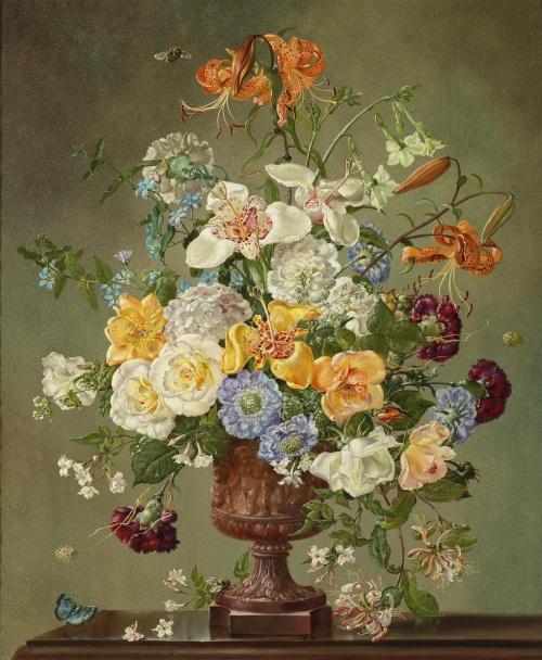 Мастер натюрморта Cecil Kennedy (1905 - 1997) (150 работ)