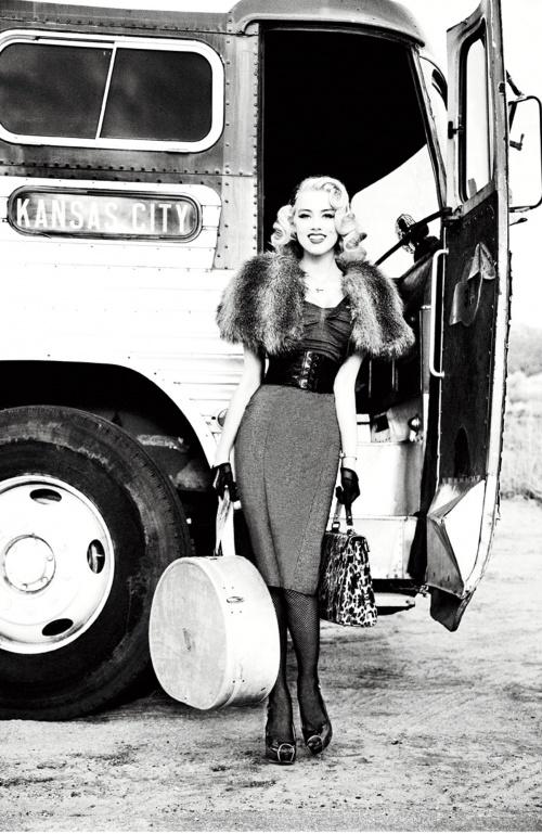 Amber Heard - Ellen von Unwerth, Guess Jeans promo (14 фото)