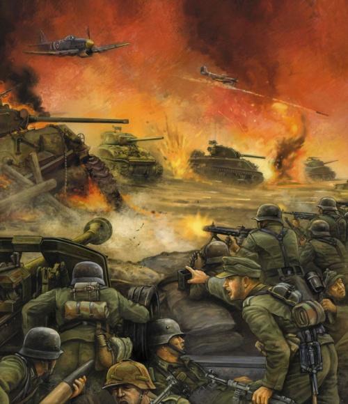 Иллюстрации к Flames Of War (52 работ)