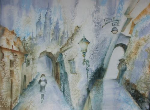 Батик Елены Дорожкиной (46 работ)