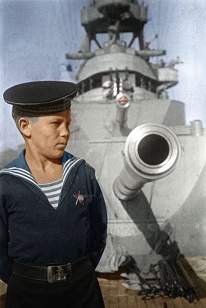 Цветные фотографии советских солдат во Второй Мировой (73 фото)
